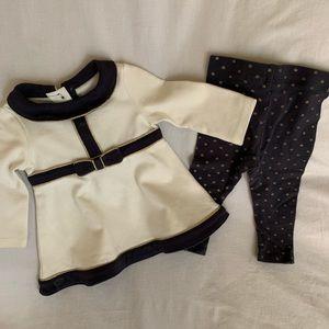 Tahari Baby Girls Outfit 3-6m